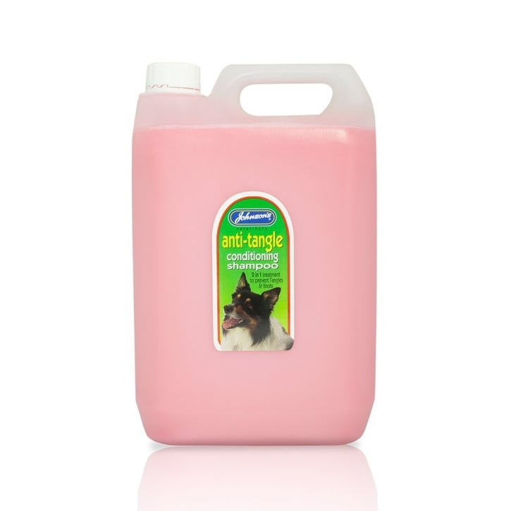 Johnsons Veterinary Anti-Tangle Conditioner Dog Shampoo 5 Litre