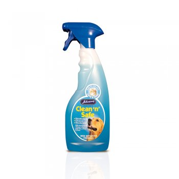 Johnsons Clean N Safe Disinfectant Spray For Dogs Amp Cats
