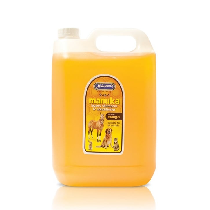 Johnsons Veterinary Dog & Cat Manuka Honey Shampoo & Conditioner 5 Litre