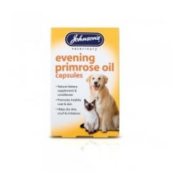 Johnsons Veterinary Evening Primrose Oil Capsules Pack 60