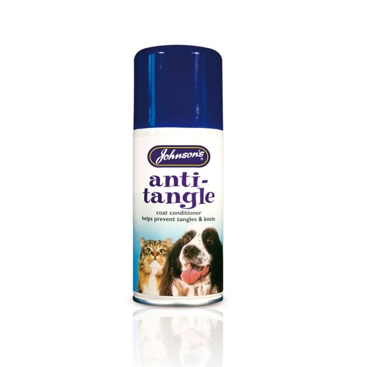 Johnsons Veterinary Anti Tangle Dog Coat Conditioner 150ml