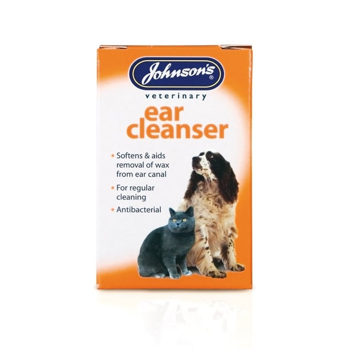 Johnsons Veterinary Ear Cleanser for Dogs & Cats 18ml