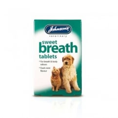 Johnsons Veterinary Sweet Breath Tablets Pack 30