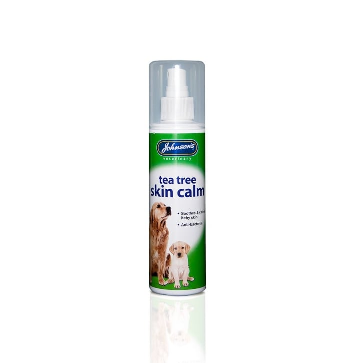 Johnsons Veterinary Tea Tree Skin Calm for Dogs & Puppies 150ml