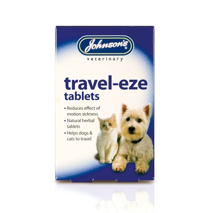 Johnsons Veterinary Travel-eze Tablets for Dog & Cats Pack 24