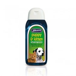 Johnsons Veterinary Puppy & Kitten Shampoo 200ml