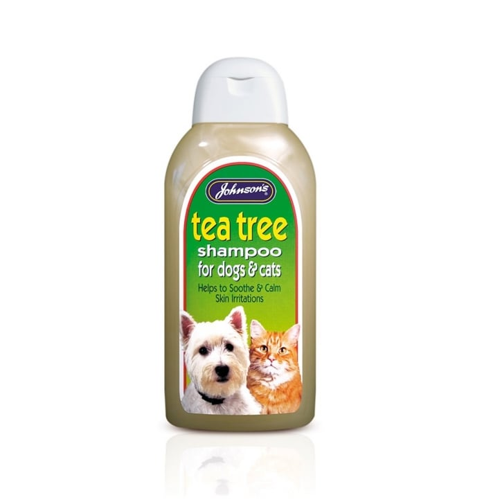 Johnsons Veterinary Tea Tree Dog Shampoo 400ml