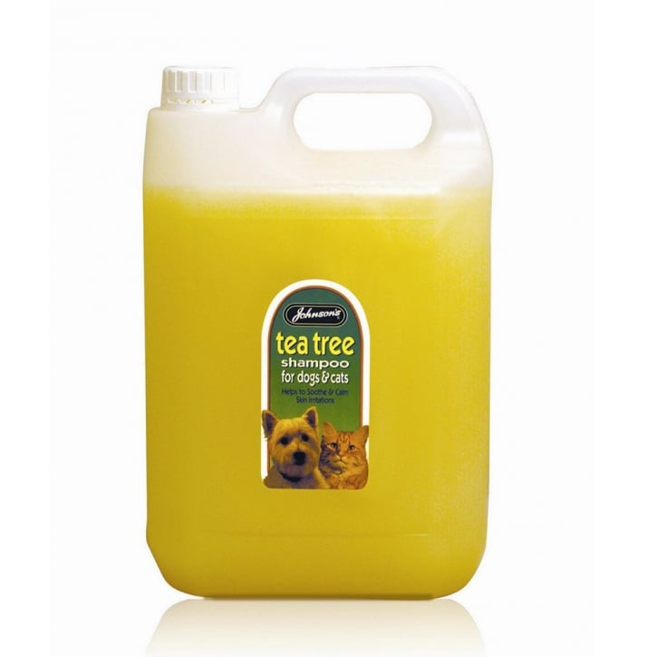 Johnsons Veterinary Tea Tree Dog Shampoo 5 Litre