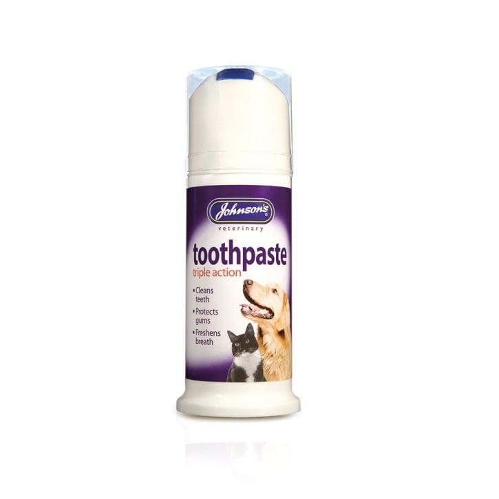 Johnsons Veterinary Toothpaste Triple Action 50ml