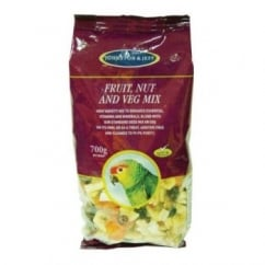 Cage Birds Fruit Nut And Veg Mix 700gm