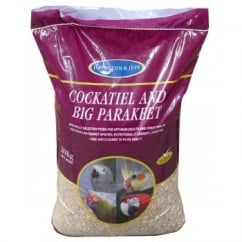 Cockatiel & Big Parakeet Seed Mix - 20kg