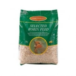 Johnston & Jeff Robin Mix Wild Bird Seed With Insects - 2kg