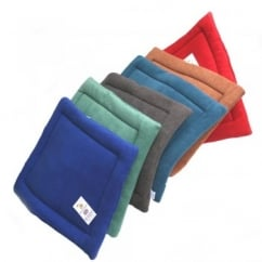 Polar Fleece Dog Quilt Pads Assorted Colours