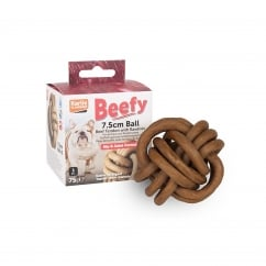 Karlie Flamingo Beefy Ball Dog Chew 7.5cm