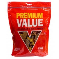 Premium Values Semi Moist Chew Assortment 1.5kg