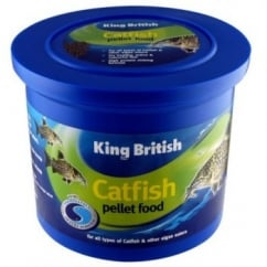 King British Cat Fish Pellets Complete Food - 600gm
