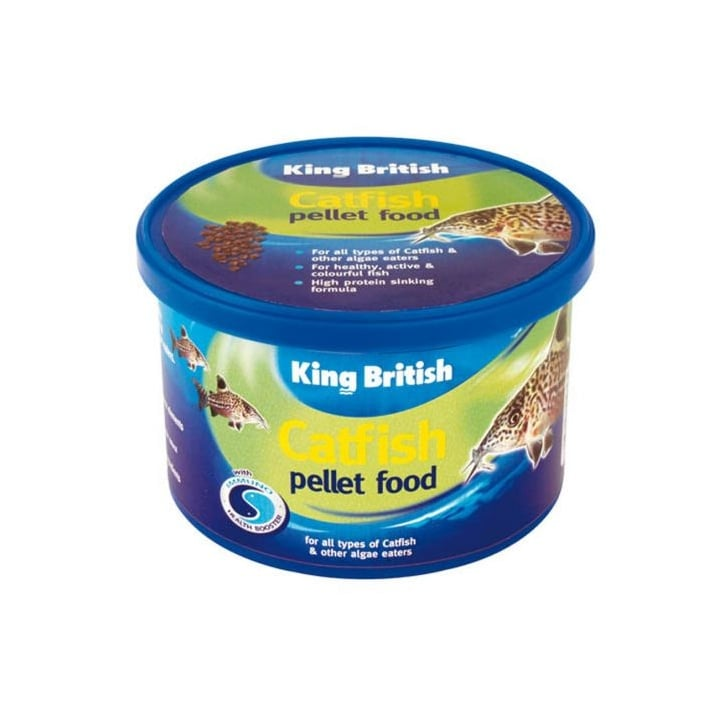 King British Cat Fish Pellets Complete Food - 65gm