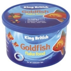 King British Goldfish Flake Complete Fish Food 28gm