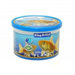 King British Goldfish Flake Food 55gm