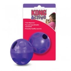 Active Plastic Cat Treat Dispenser Ball