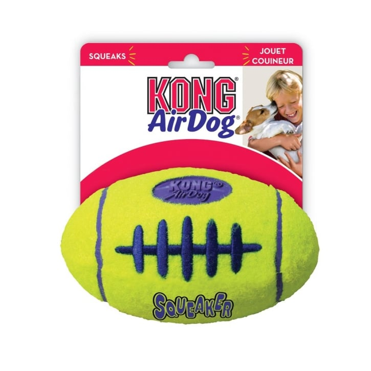 Kong Air Dog American Football Dog Play Toy Large
