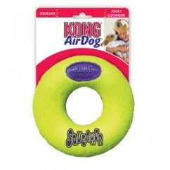 Kong Air Dog Squeaker Donut Dog Training Toy - Small