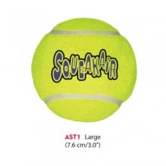 Kong Air Dog Squeaker Tennis Ball - Large