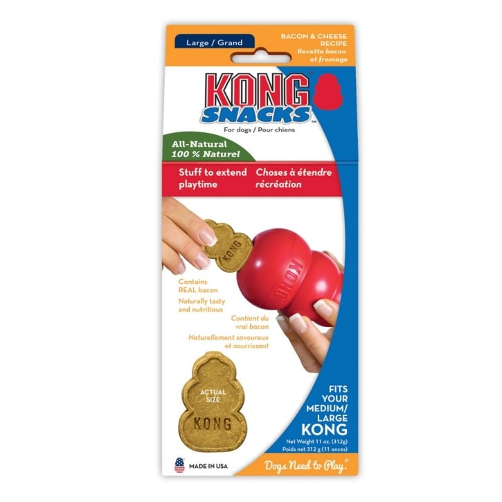 Kong Bacon and Cheese Snacks- Large 369gm