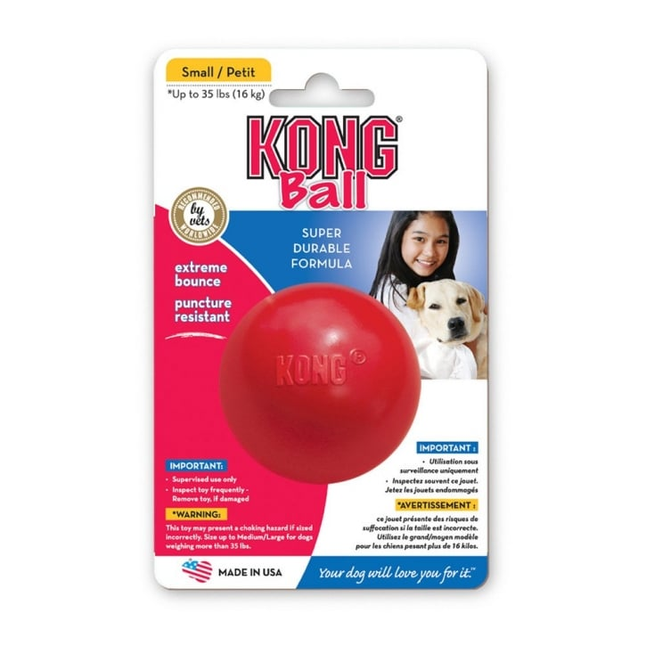Kong Ball Dog Toy Small/Petite - 6mm