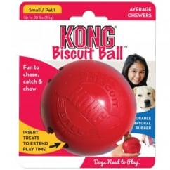 Biscuit Dog Treat Play Ball - Small