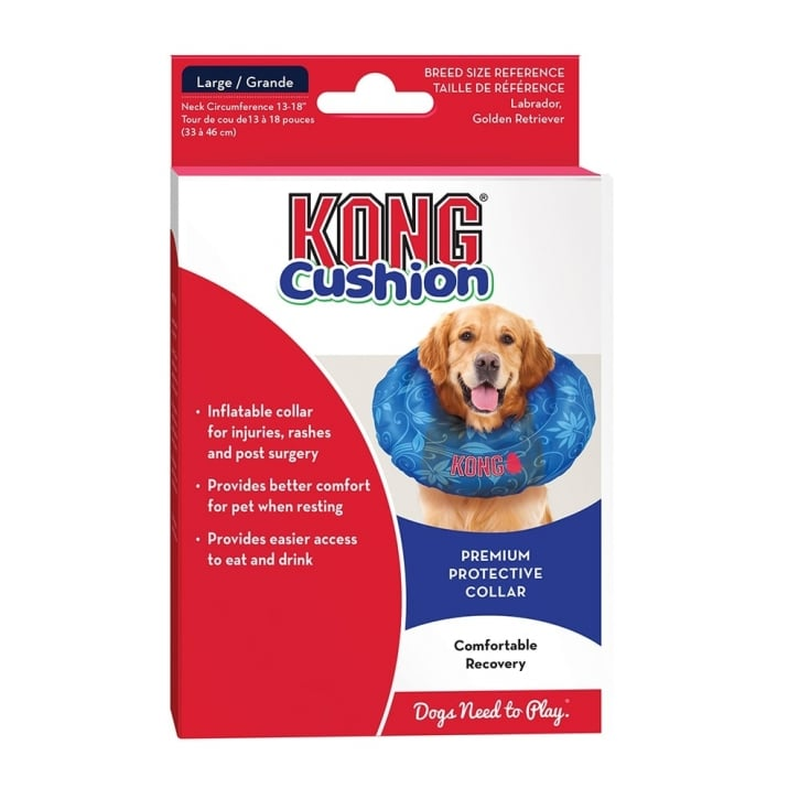 Kong Cushion Premium Protective Dog Collar Large