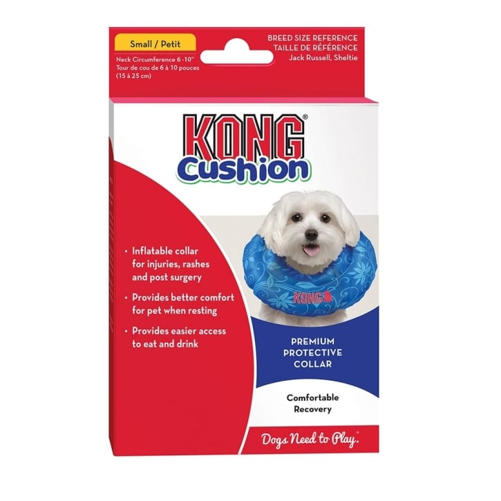 Kong Cushion Premium Protective Dog Collar Small