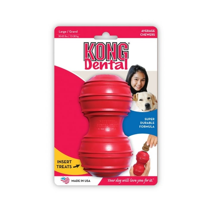 Kong Dental Kong Dog Play Toy Large