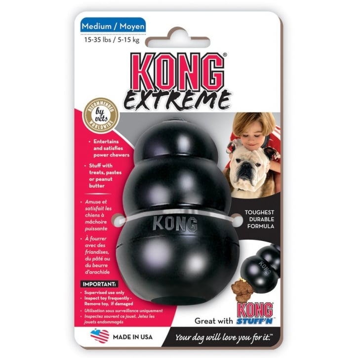 Kong Extreme Kong Dog Play Toy - Medium