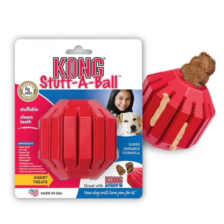 Kong Stuff-a-ball Dog Play Toy - Medium