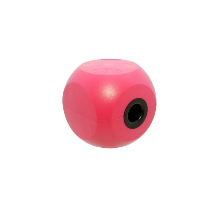 Kruuse Buster Mini Dog Treat Ball & Play Toy - Cherry