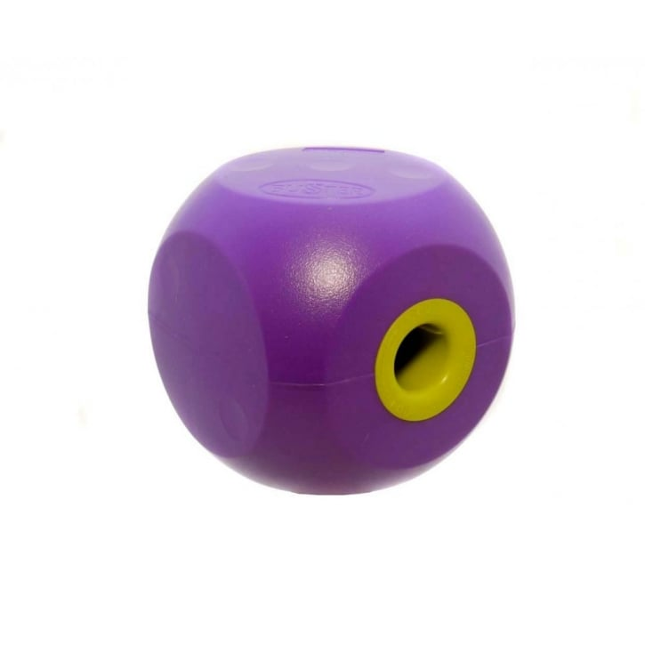 Kruuse Buster Mini Dog Treat Ball & Play Toy - Purple