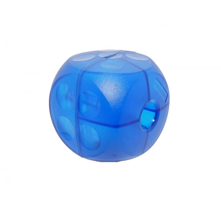 Kruuse Buster Mini Soft Dog Treat Ball & Play Toy - Blue