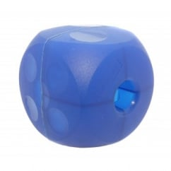 Buster Soft Dog Treat Ball & Play Toy - Blue