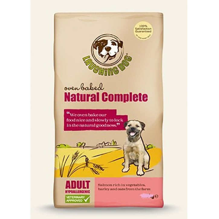 Laughing Dog Natural Complete Adult Dog Food Salmon 15kg