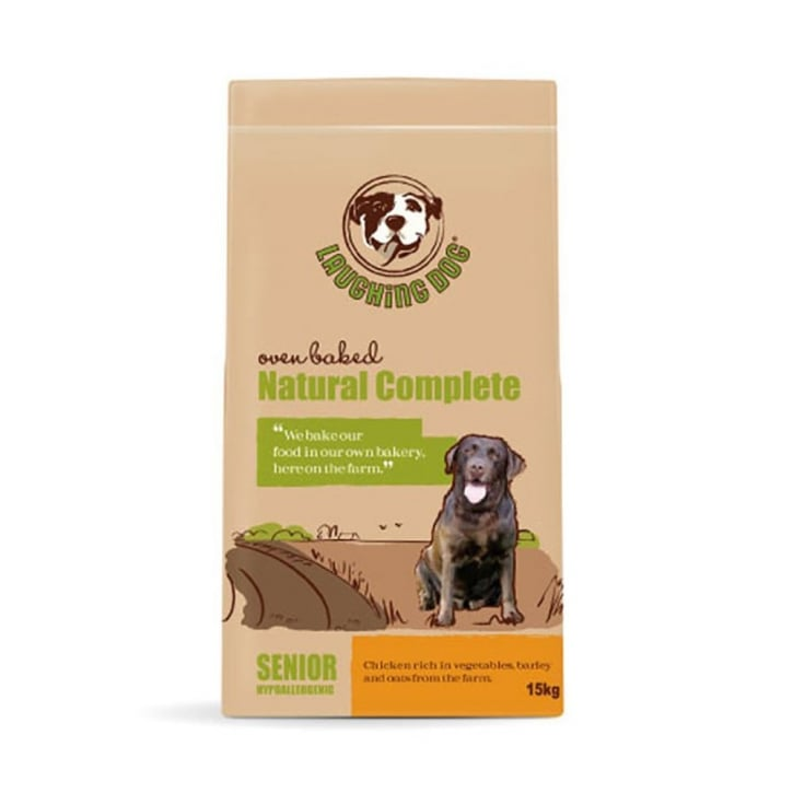 Laughing Dog Natural Complete Senior Dog Food Chicken 15kg