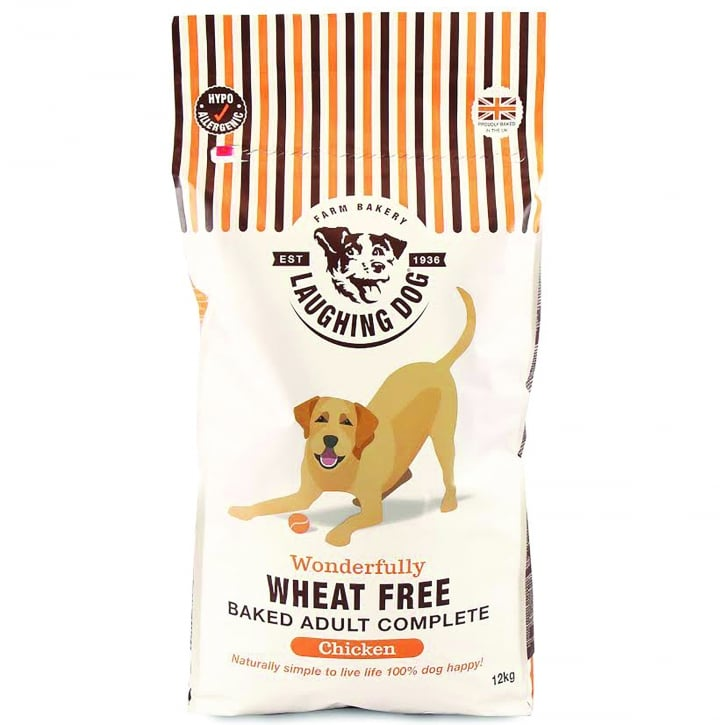 Laughing Dog Wonderfully Wheat Free Complete Adult Dog Food Chicken 12kg
