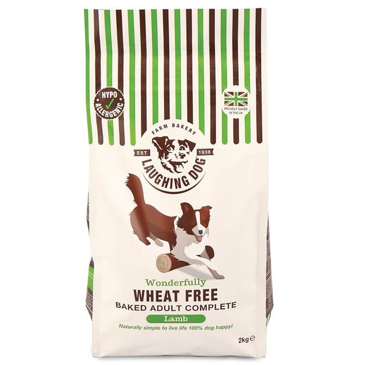 Laughing Dog Wonderfully Wheat Free Complete Adult Dog Food Lamb 2kg
