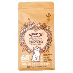 Lily's Kitchen Adult Cat Delicious Chicken & Healthy Herbs Cat Food 200g
