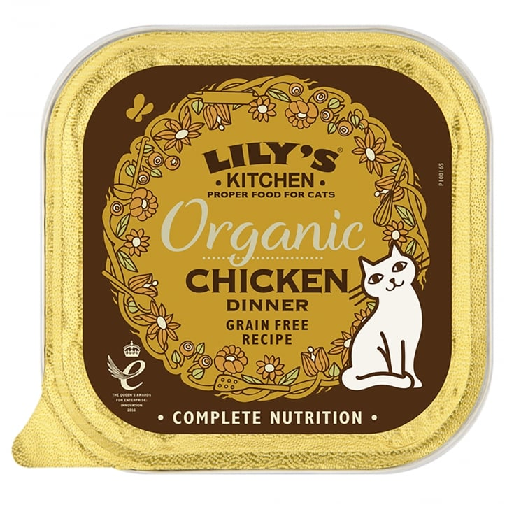 Lily's Kitchen Adult Cat Organic Chicken Wet Cat Food 85g