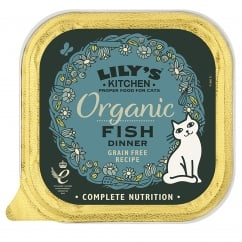 Adult Cat Organic Fish Cat Food 85g