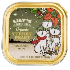 Lily's Kitchen Adult Organic Turkey Feast Wet Cat Food 85g