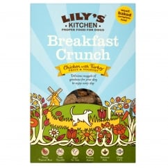 Lily's Kitchen Breakfast Crunch Chicken With Turkey for Dogs 800g