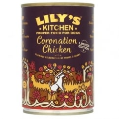 Lily's Kitchen Coronation Chicken Wet Dog Food 400g