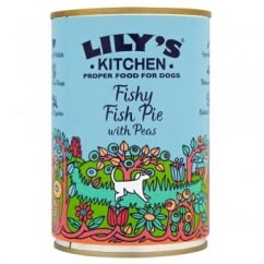Fishy Fish Pie with Peas Wet Dog Food 400g